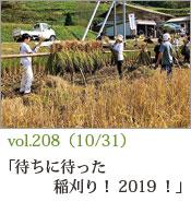 稲刈り2019