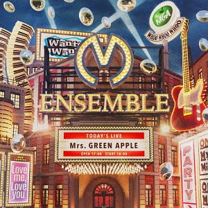 ENSEMBLE [DVD付初回限定盤][CD] / Mrs. GREEN APPLE