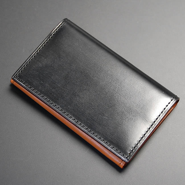 Nep Japan Made Card Case Mens Leather Business Card Holder Leather