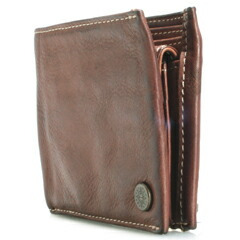 0716c120cf7d9 Natural wrinkling and uneven was moist and soft leather to become familiar  with casual taste  as the present most popular bi-fold wallet