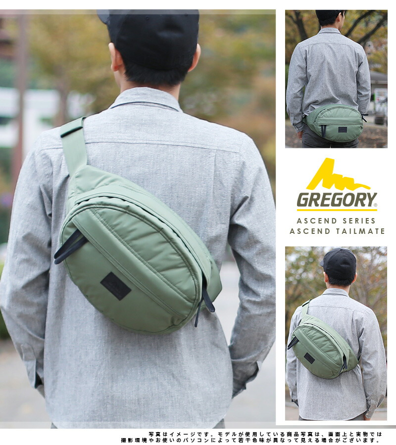 Gregory GREGORY! Waist bag Shoulder bag  ASCEND  ASCEND TAILMATE   Ascend  tall mate SM c1a9b0fad9a62