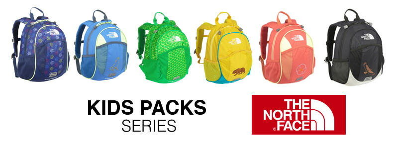 THE NORTH FACE! Backpacks [KIDS PACKS] [K Homeslice] nmj71405