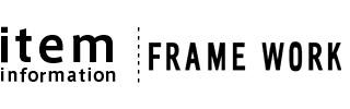 FRAME WORK(フレームワーク)の長財布