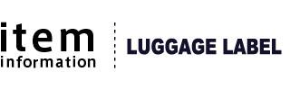 LUGGAGE LABEL(ラゲッジレーベル)のリュックサック デイパック