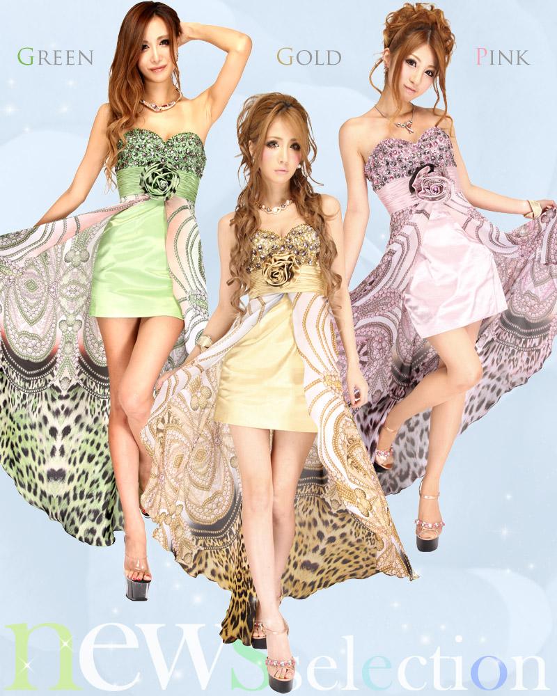 キャバ嬢 ドレス【Angel R|エンジェルアール】胸元のビジュー飾りが豪華