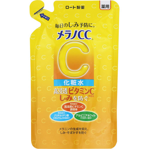 メラノCC 薬用しみ対策 美白化粧水 詰替え用 170ml