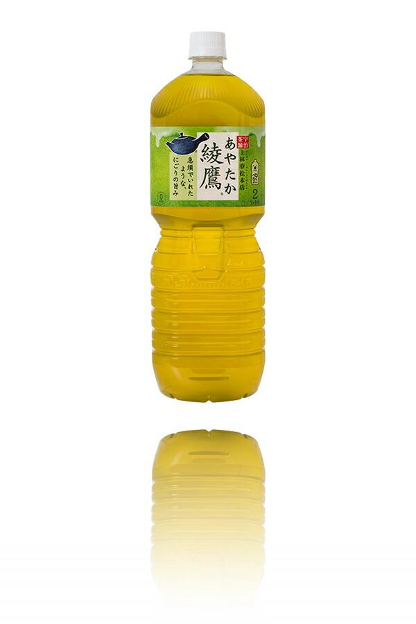 綾鷹 ペコらくボトル2LPET【送料無料】コカコーラ 綾鷹 (あやたか)緑茶 2L(2000ml)x6本 1ケース販売 お茶