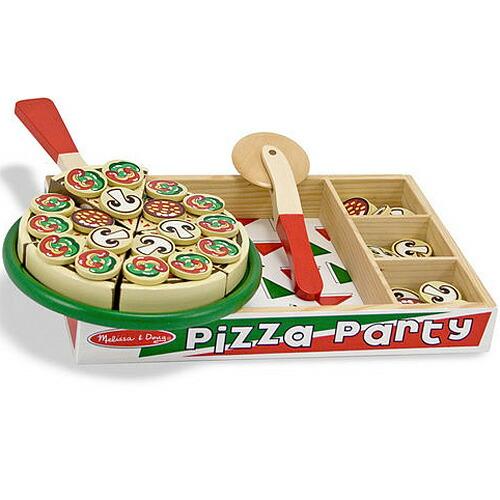 メリッサ&ダグ ピザパーティー