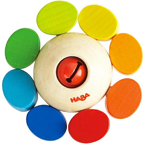 HABA ラトル カラーフラワー