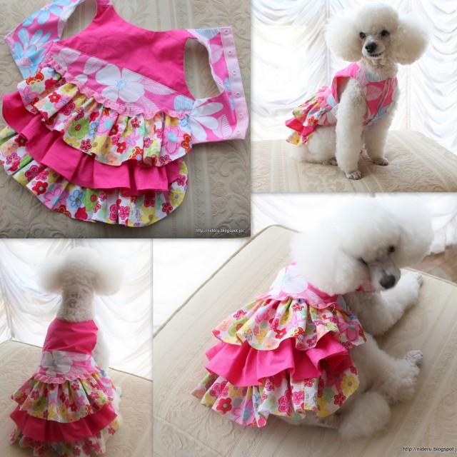 Img on Fabric Dog Harness Pattern