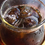 黒糖シロップをアイスコーヒーに