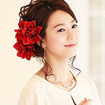 モデル:西村みえこ