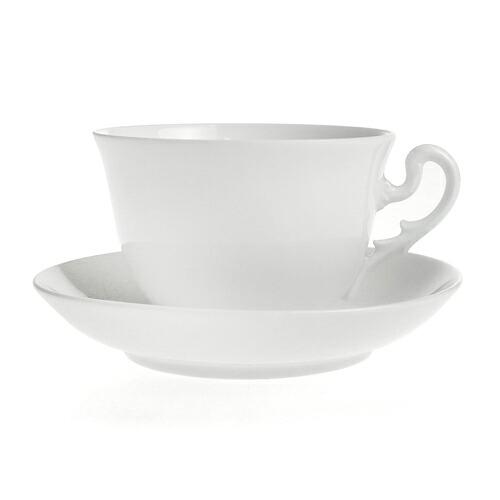 リチャード・ジノリ ミュージオホワイト ティーカップ&ソーサー 3045