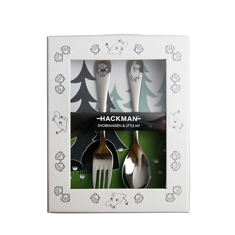 ハックマン (HACKMAN) ムーミン カトラリー スプーン&フォーク スノーク/ミー