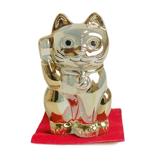 バカラ (Baccarat) 招き猫 ゴールド 2-612-997【あす楽対応】