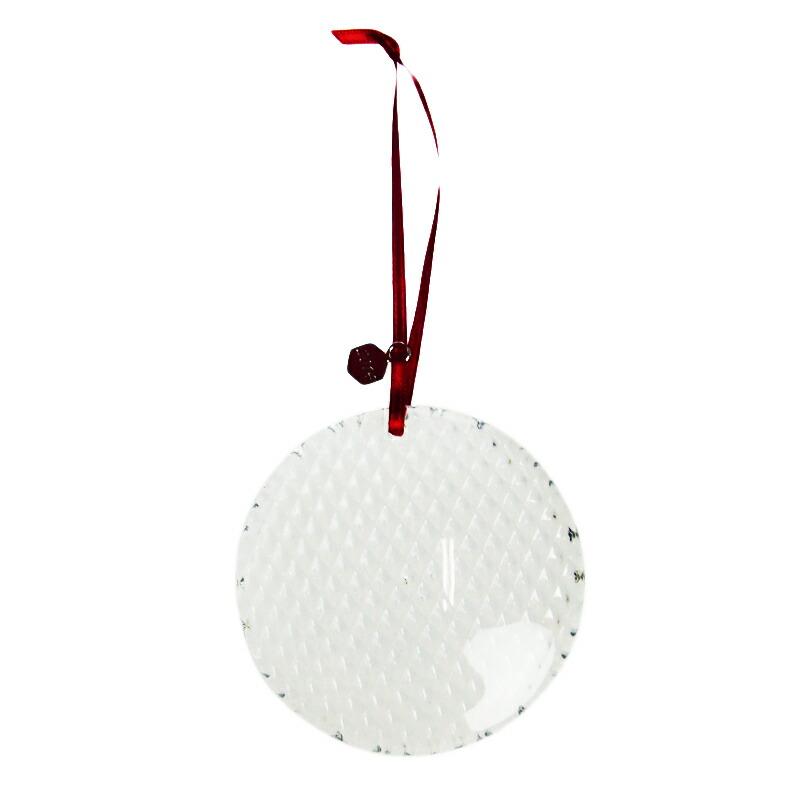 バカラ (Baccarat) ノエル クリスマスオーナメント ダイヤモンド ボーブル 394 (2014年度限定品)【あす楽対応】