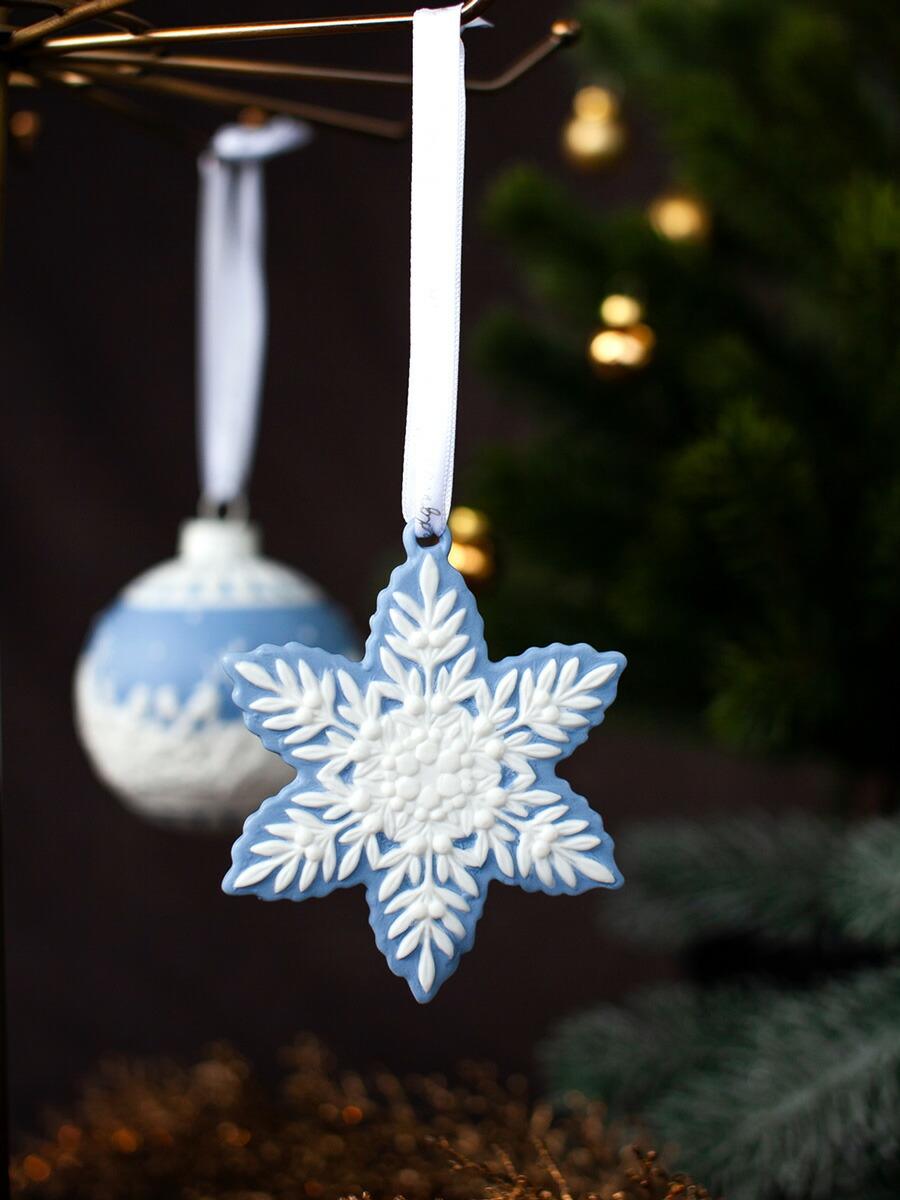 ウェッジウッド(WEDGWOOD)  クリスマスコレクション  ホリデイオーナメント