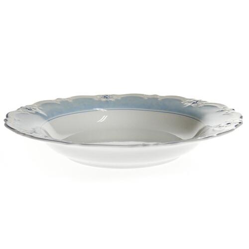 フッチェンロイター (HUTSCHEN REUTHER) エステールブルー スーププレート 24cm