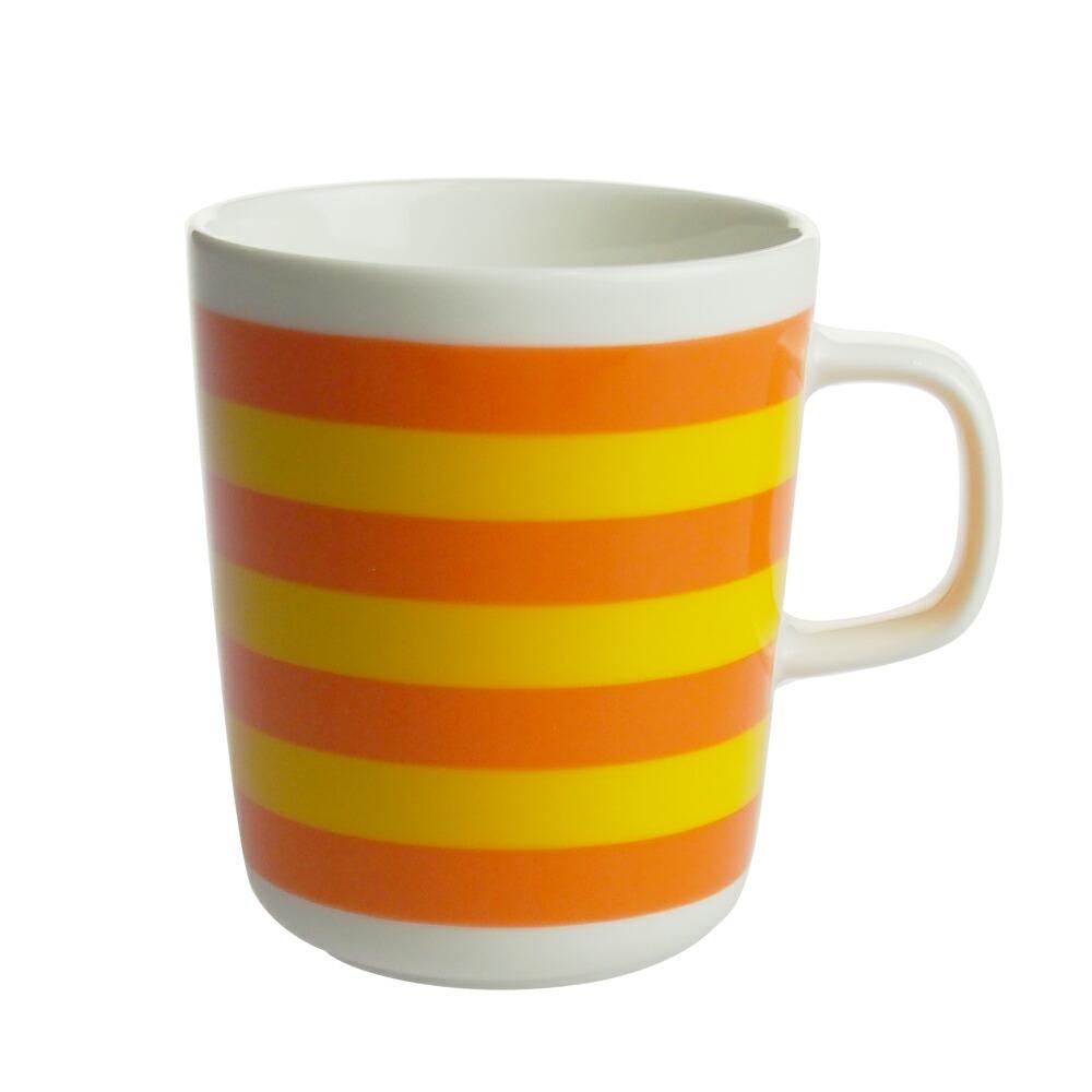 マリメッコ (marimekko) タサライタ TASARAITA マグカップ オレンジ/イエロー