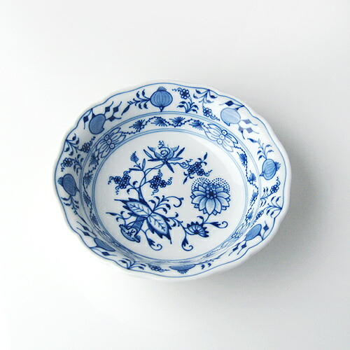 マイセン (Meissen) ブルーオニオン ボウル14cm 411