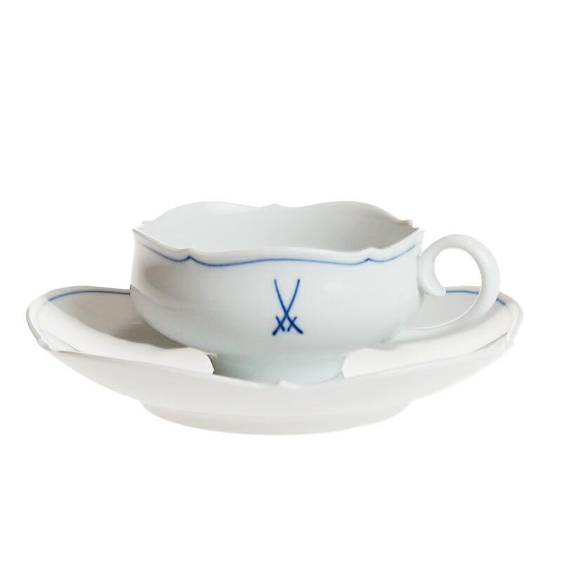 マイセン (Meissen) マイセンマーク ティーカップ&ソーサー 23633
