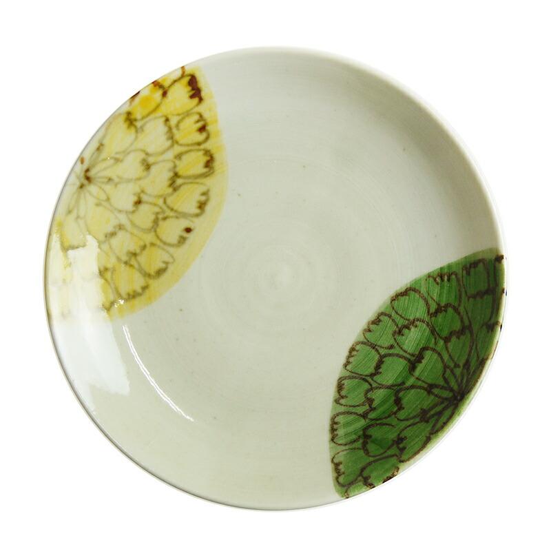 陶房ななかまど 花紋小皿