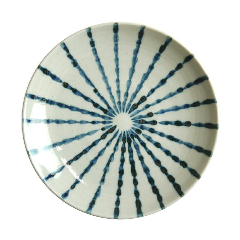 陶房ななかまど とくさ紋小皿