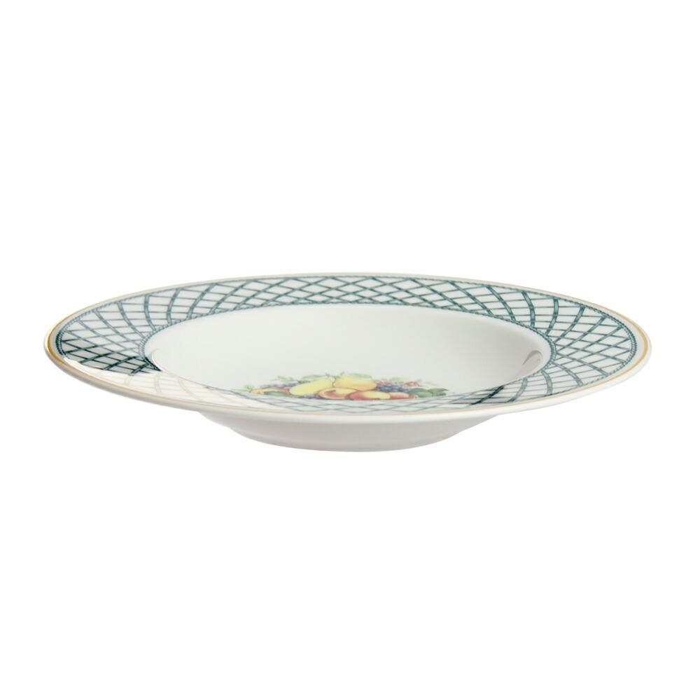 ビレロイ&ボッホ(Villeroy&Boch) バスケットガーデン スープ プレート 24cm