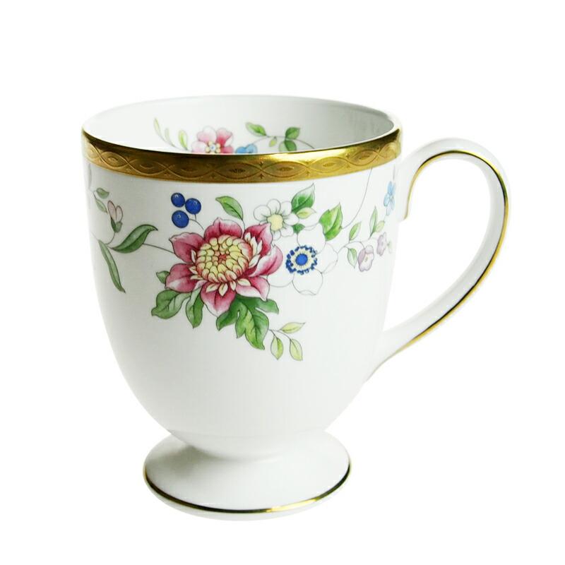 ウェッジウッド (WEDGWOOD) グレイス フッティドマグカップ