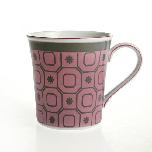 ウェッジウッド (WEDGWOOD) パラディオ マグカップ ピンク 0.3L