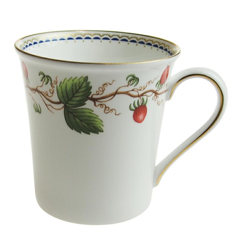 ウェッジウッド (WEDGWOOD) ワイルドストロベリーアーカイブ マグカップ デルフィー