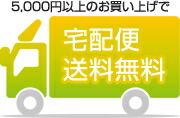 5,000円  (税別)以上で送料無料