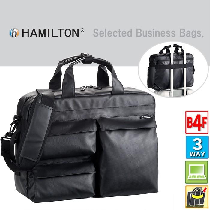 ビジネスバッグ メンズ ブリーフケース HAMILTON #26609