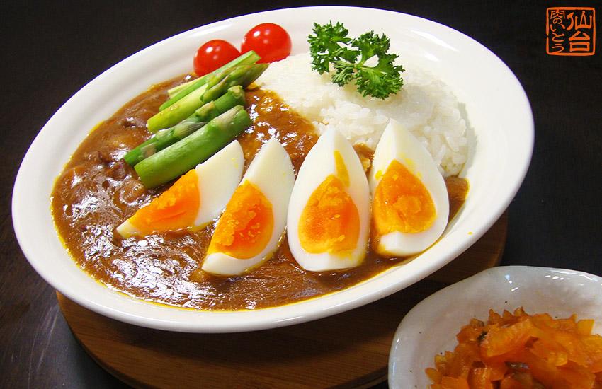 夏野菜カレー写真