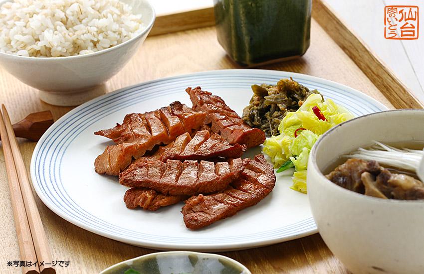 レシピ1麦飯とテールスープ写真
