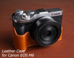 Canon EOS M6用ケース