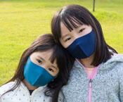 洗える抗菌ウォームマスク