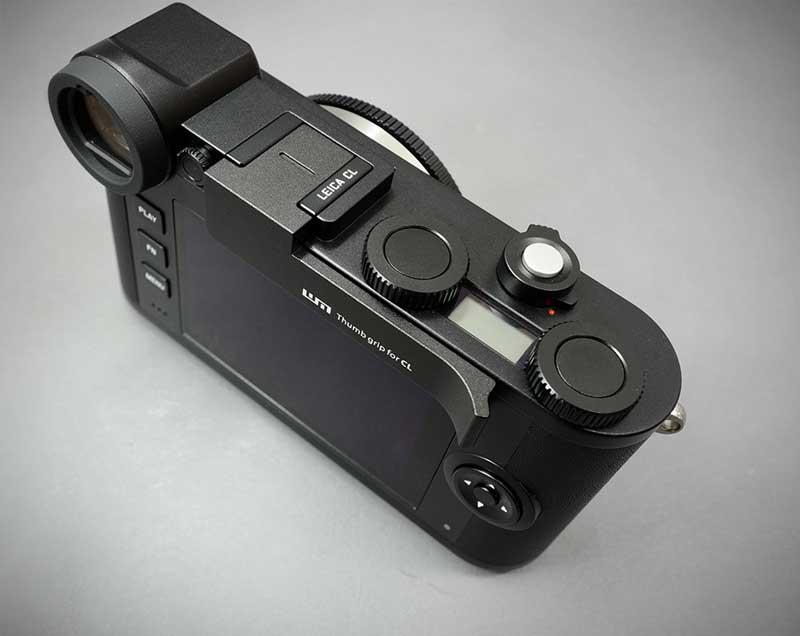 メタルグリップ プレート カメラケース 高級 LIMS Italian Genuine Leather Metal grip Half Case for Leica CL LC-CL1BK Black ブラック イタリアンレザー リムズ おしゃれ 日本正規販売店 かっこいい CL用 高品質 ライカ 本革