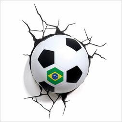 ウォールライト/サッカーボール