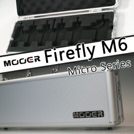 Mooer Fire Fly M6 ペダルボード