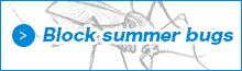 夏場の害虫対策