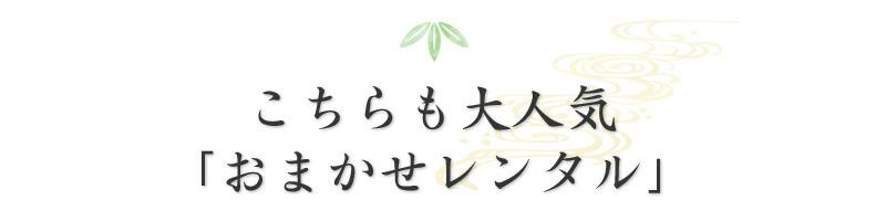 おまかせレンタルシリーズ