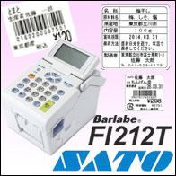 サトーバーラベシリーズFi212t