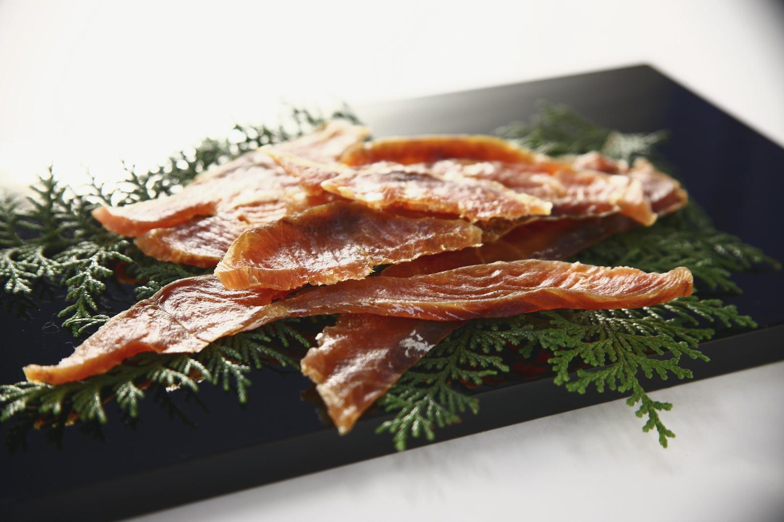 清酒仕立て極味鮭/盛り付け例