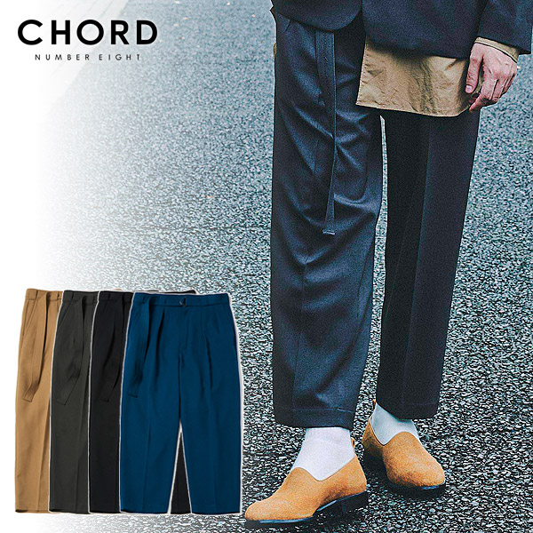コードナンバーエイト CHORD NUMBER EIGHT TWO TUCK WIDE PANTS