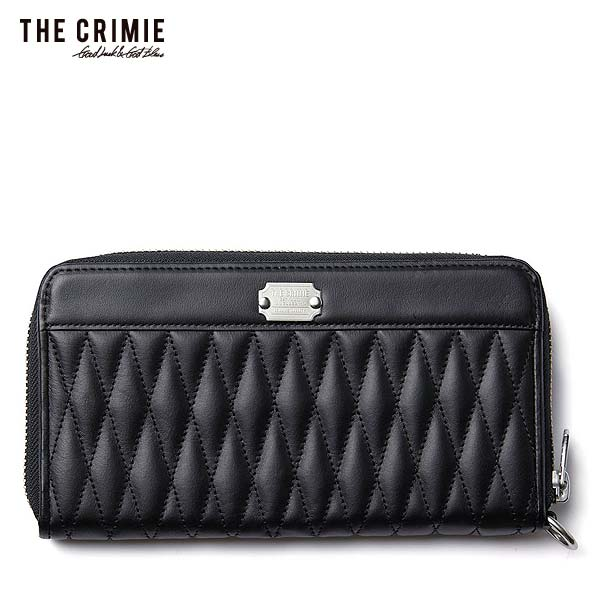 クライミー CRIMIE DIAMOND QUILT ZIP LONG WALLET