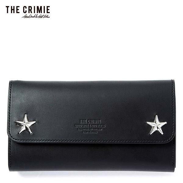 CRIMIE クライミー STAR STUDS BIKER TRAVEL WALLET