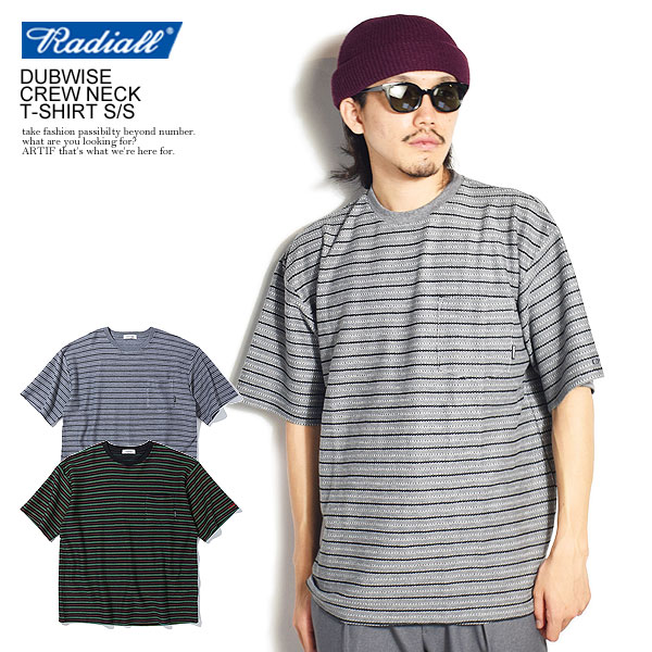 RADIALL DUBWISE - CREW NECK T-SHIRT S/S