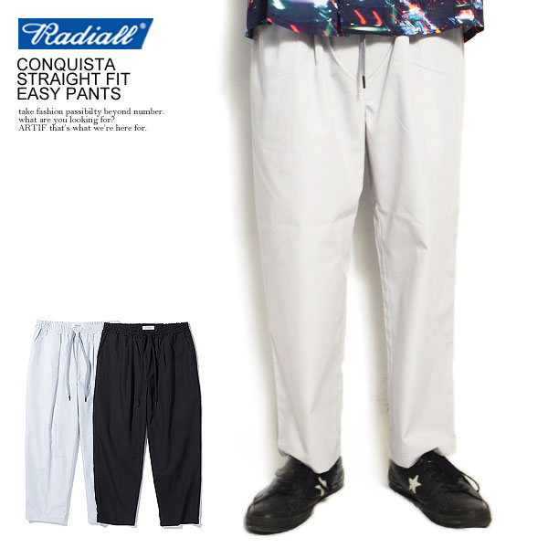 CONQUISTA - STRAIGHT FIT EASY PANTS