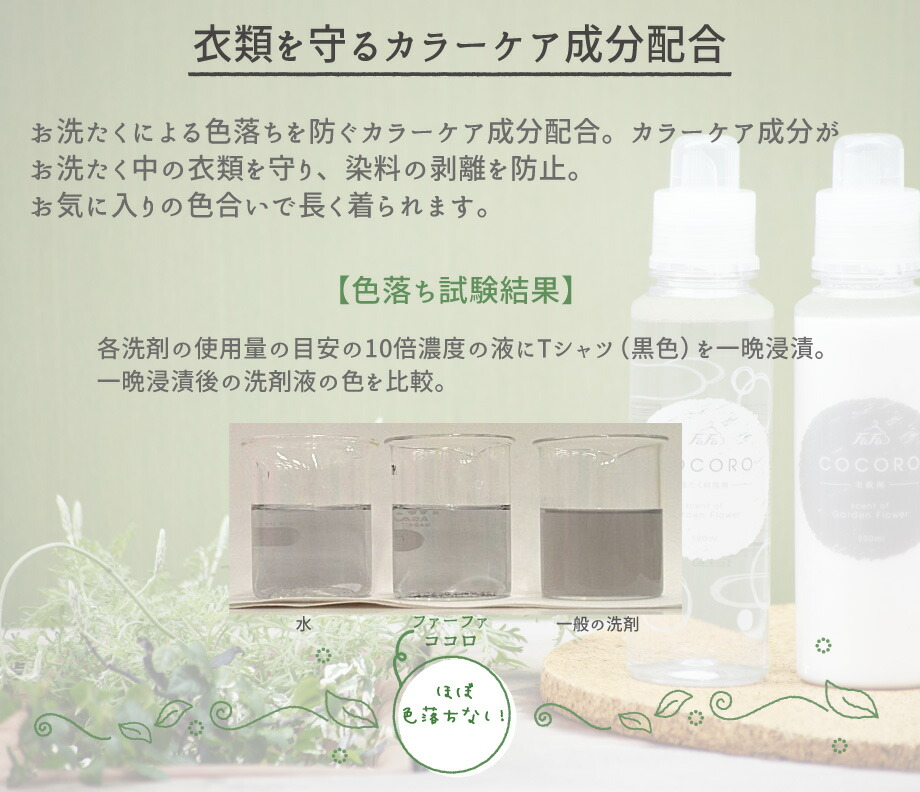 ファーファ ココロ洗たく洗剤